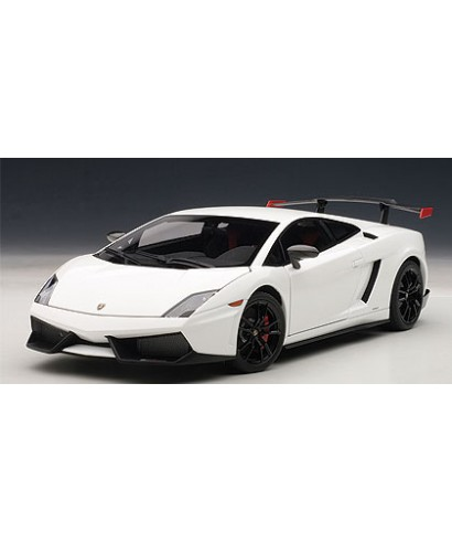 LAMBORGHINI GALLARDO LP570 SUPERTROFEO 2011 WHITE 1:18