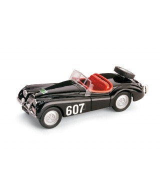 JAGUAR XK 120 SPIDER N.607 RALLY ALPI 1953 1:43