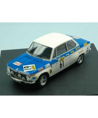 BMW 2002 N.61 6th (WINNER Gr.2) TOUR AUTO 1971 T.FALL-M.WOOD 1:43