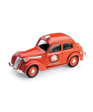 FIAT 1100 E VIGILI DEL FUOCO DI BRUNICO 1947 1:43