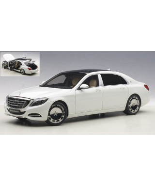 MERCEDES MAYBACH S-KLASSE (S600) 2016 BIANCO 1:18