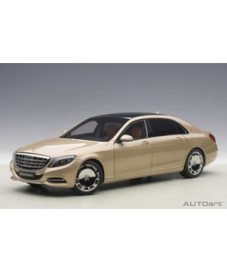 MERCEDES MAYBACH S-KLASSE S600 GOLD 1:18
