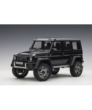 MERCEDES G500 4x4-2 2016 GLOSS BLACK 1:18