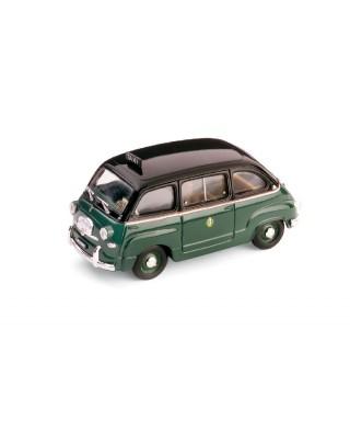 FIAT 600 MULTIPLA TAXI MILANO 1955 1:43