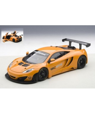 MC LAREN 12C GT3 PRESENTATION CAR ARANCIO 1:18