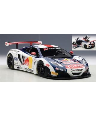 MC LAREN 12C GT3 N.9 FIA GT 2013 S.LOEB-A.PARENTE 1:18