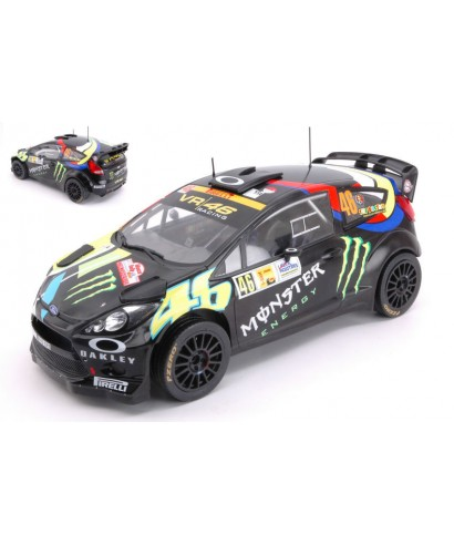 FORD FIESTA RS WRC N.46 WINNER RALLY MONZA 2012 V.ROSSI-C.CASSINA 1:18