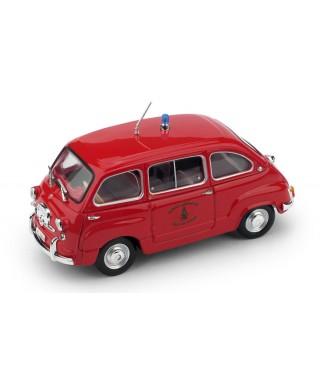 FIAT 600 MULTIPLA POMPIERI 1960 1:43