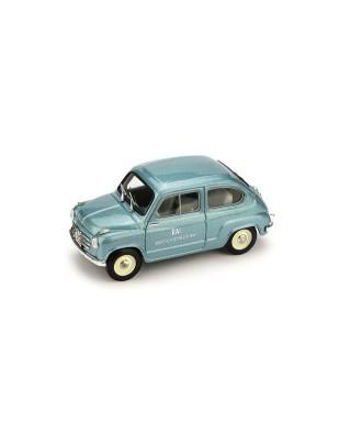 FIAT 600 VETTURA DI SERVIZIO RAI 1960 1:43