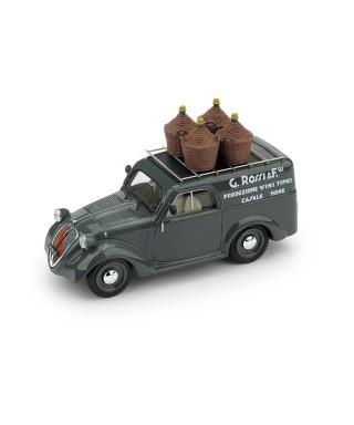 FIAT 500B FURGONE 1941 G.ROSSI & FIGLI PRODUZIONE VINI TIPICI REPRO 1:43