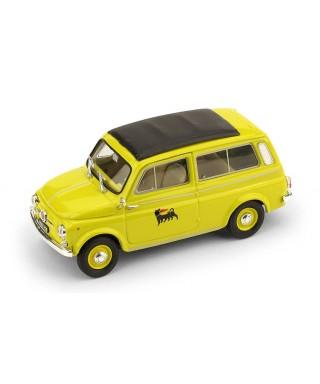 FIAT 500 GIARDINIERA 1960 AGIP 1:43