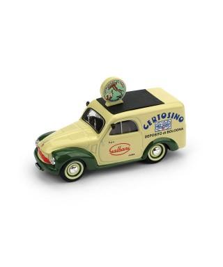 FIAT 500B FURGONE 1950 CERTOSINO GALBANI 1:43