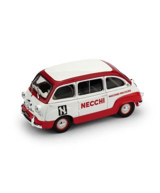 FIAT 600 MULTIPLA 1960 MACCHINE DA CUCIRE NECCHI 1:43
