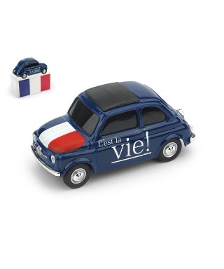 FIAT 500 BRUMS FRANCIA -VOILA- C EST LA VIE 1:43