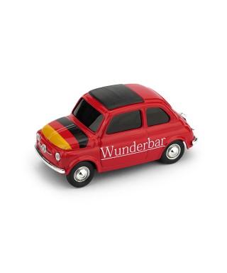 "FIAT 500 BRUMS GERMANIA ""WUNDERBAR!""/BRUMMBARCHEN! 1:43"