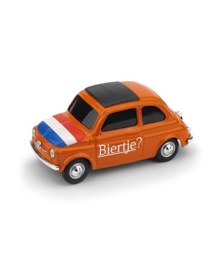 "FIAT 500 BRUMS OLANDA ""BIERTJE? - T IS HIER SANTASTISCH"" 1:43"