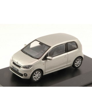 SKODA CITIGO 3 DOORS 2011 SILVER LEAF METALLIC 1:43