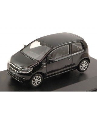 SKODA CITIGO 3 DOORS 2011 DEEP BLACK METALLIC 1:43