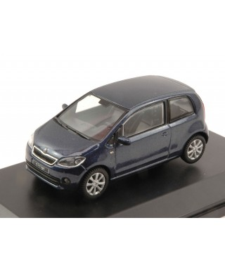 SKODA CITIGO 3 DOORS 2011 NIGHT BLUE METALLIC 1:43