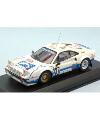 FERRARI 308 N.137 RETIRED (ACCIDENT) MONTE CARLO 1982 ZAMBORLINI 1:43