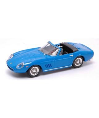 FERRARI 275 GTB SPYDER 1968 STEVE MC QUEEN BLUE 1:43