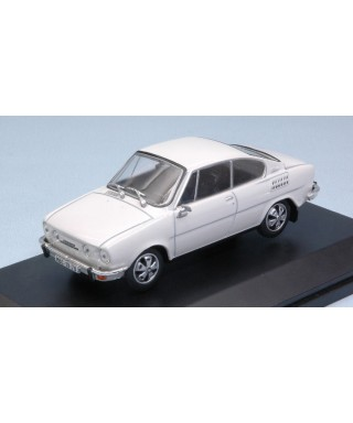 SKODA 110R COUPE1980 WHITE 1:43