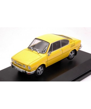 SKODA 110R COUPE1980 SOLAR YELLOW 1:43