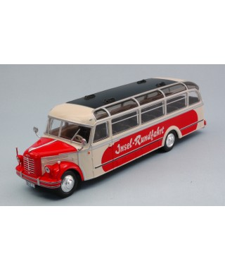 BORGWARD BO 4000 BEIGE/RED 1952 1:43