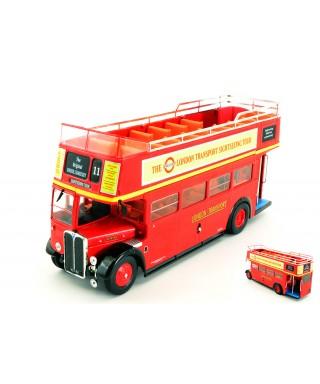 AEC REGENT RT RED LONDON TRANSPORT 1950OPEN TOP 1:43
