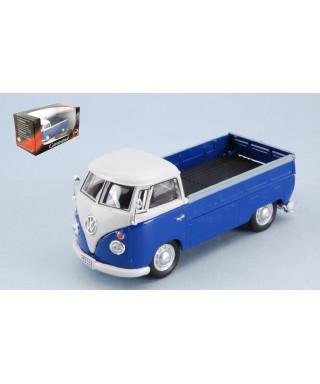 VW T1 PICK UP 1960 BLUE/WHITE 1:43