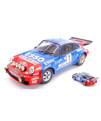 PORSCHE 911 RS N.1 6th RALLY MONTE CARLO 1979 NICOLAS-TODT 1:18