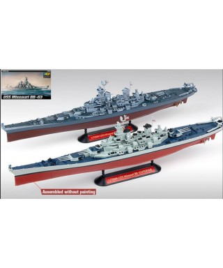 NAVE USS MISSOURI BB-63 KIT 1:700