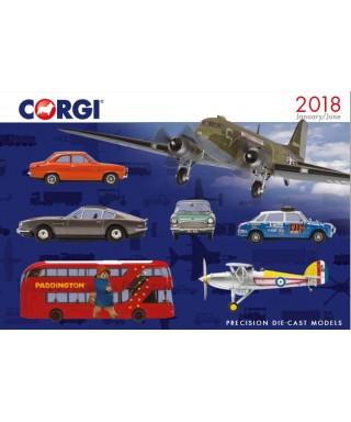 CATALOGO CORGI 2018 (JAN-JUN)