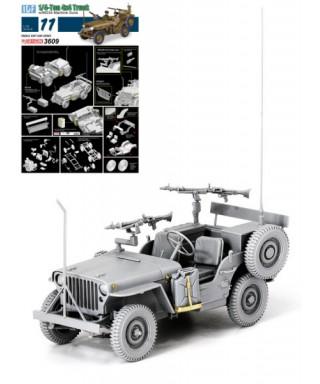 IDF 1/4 TON 4x4 TRUCK W/MG34 KIT 1:35