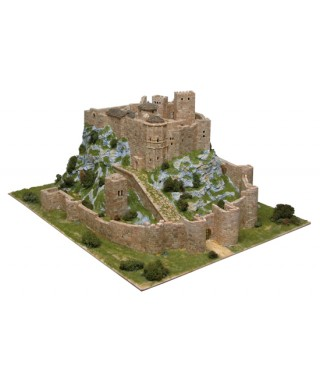 CASTELLO DI LOARRE SPAIN SEC.XI PCS 8600 KIT 1:200