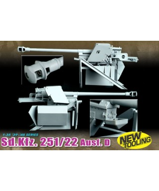 251/22 D W/PAK 40 7,5 cm SD KFZ KIT