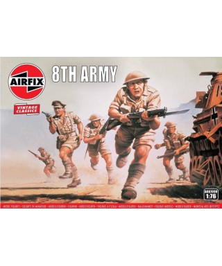 WWII BRITISH 8th ARMY KIT 1:76