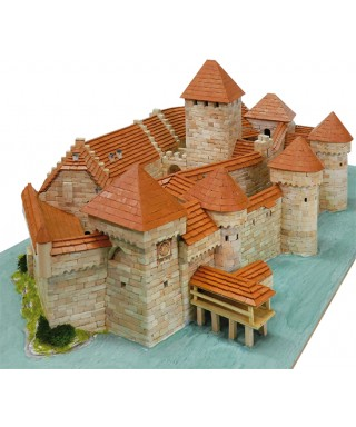 CASTELLO DI CHILLON SWITZERLAND SEC.XII PCS 8900 KIT 1:190