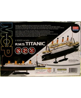 RSM TITANIC KIT 1:1000