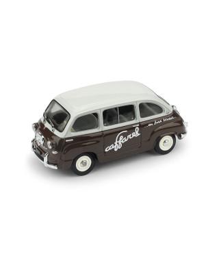FIAT 600 MULTIPLA CIOCCOLATO CAFFAREL 1956 1:43