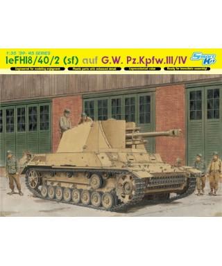 LE.FH 18/40/2 SFL AUF G.W.PZ.III/IV KIT 1:35