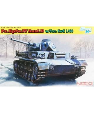 PZ.KPFW.IV AUSF.D W/5 cm KwK L/60 KIT 1:35