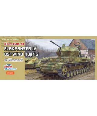 FLAKPANZER IV OSTWIND 3,7 cm FLAK 43 KIT 1:35
