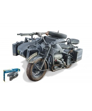 ZUNDAPP KS 750 W/SIDECAR KIT 1:9