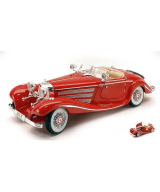 MERCEDES 500 K TYPE 1936 RED 1:18