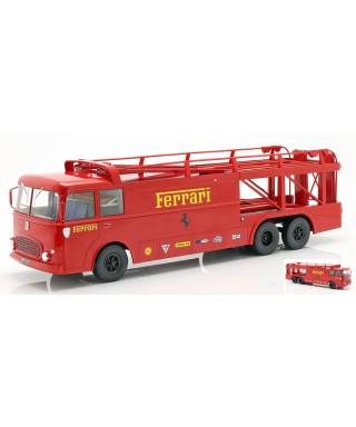 FIAT BARTOLETTI 306/2 TRANSPORTER FERRARI 512 LE MANS 1970 1:18