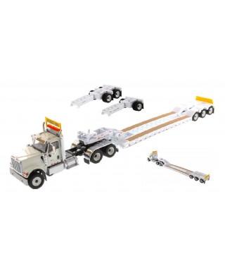 HX520 TANDEM TRACTOR WHITE XL TRAILER 1:50