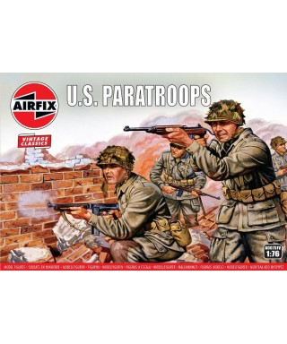 WWII US PARATROOPS KIT 1:76
