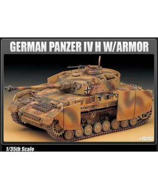 GERMAN PANZER IV H W/ARMOR KIT 1:35