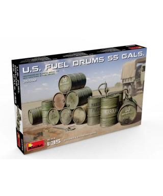 U.S.FUEL DRUMS (55 Gals.) KIT 1:35